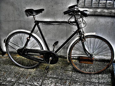 Photograph - Old Bicycle by Nina Ficur Feenan