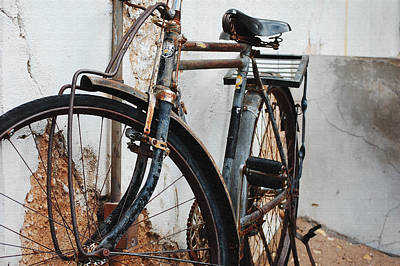 Photograph - Old Bike II by Robert Meanor