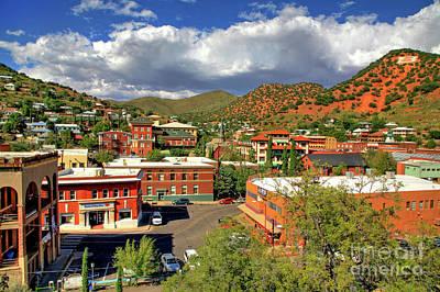 Photograph - Old Bisbee Arizona by Charlene Mitchell