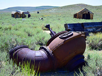 Photograph - Old Blower by Sandra Lynn