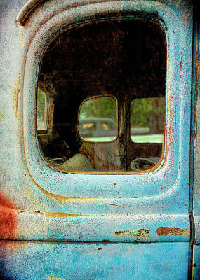 Photograph - Old Blue by Ann Powell