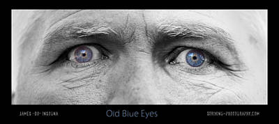 Photograph - Old Blue Eyes Poster Print by James BO Insogna
