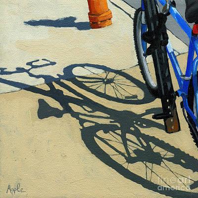 Old Blue Art Print by Linda Apple