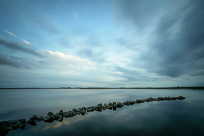 Photograph - Old Blue Morning by Michael Scott