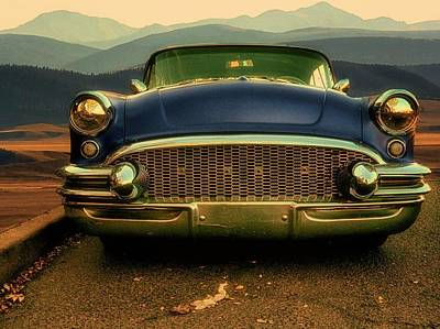 Photograph - Old Blue  by Richard Keer