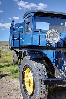 Photograph - Old Blue by Ricky Barnard