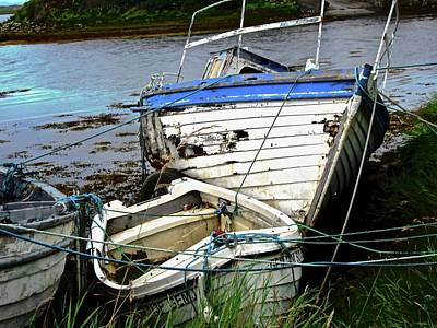 Photograph - Old Boats by Stephanie Moore