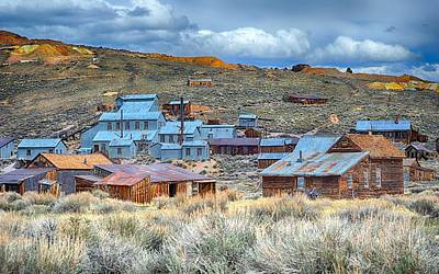 Photograph - Old Bodie Gold Mining Town by AJ Schibig