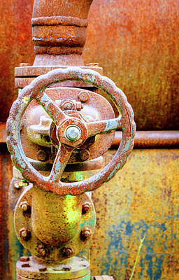 Photograph - Old Boiler by Alexey Stiop