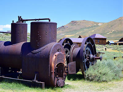Photograph - Old Boiler by Sandra Lynn