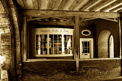 Photograph - Old Book Shop by Chris Day