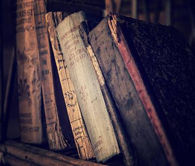 Photograph - Old Books 2 by Marianna Mills