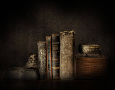 Photograph - Old Books by David and Carol Kelly