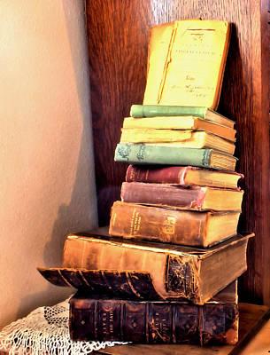 Photograph - Old Books by Myrna Migala