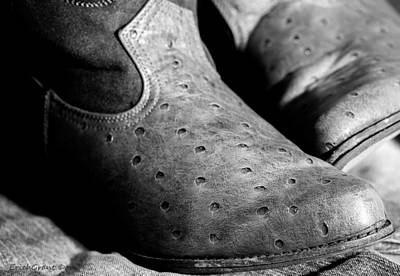 Photograph - Old Boots by Erich Grant
