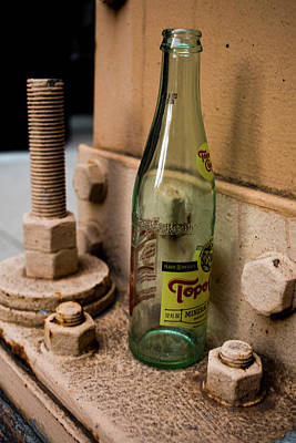 Photograph - Old Bottle by Kelly Smith
