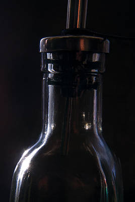Bottle Photograph - Old Bottle by Steve Somerville