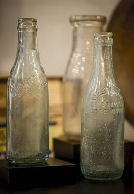 Photograph - Old Bottles by Van Sutherland