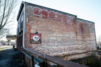 Photograph - Old Brick Building In Blaine by Tom Cochran