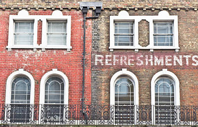 Brick Building Photograph - Old Brick Building by Tom Gowanlock