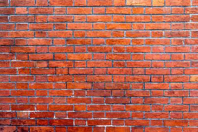 Photograph - Old Brick Wall by SR Green