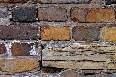 Photograph - Old Bricks by Photography by Tiwago
