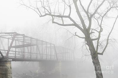 Photograph - Old Bridge At Oakland Mills by Tamara Becker