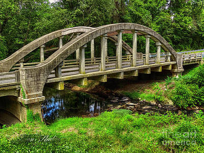 Photograph - Old Bridge Central Virginia by Melissa Messick