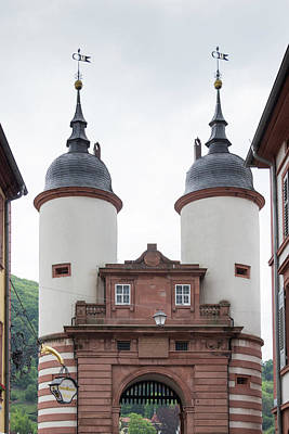 Photograph - Old Bridge Gate Heidelberg by Teresa Mucha