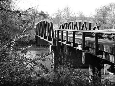 Photograph - Old Bridge by James L Bartlett