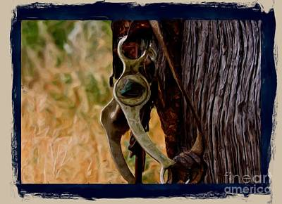 Photograph - Old Bridle by Carole Martinez