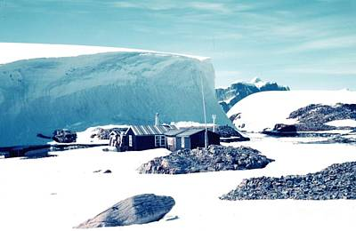 Painting - Old British Base On Winter Island by Celestial Images