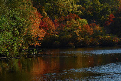Photograph - Old Brookville Lake by William Kimble