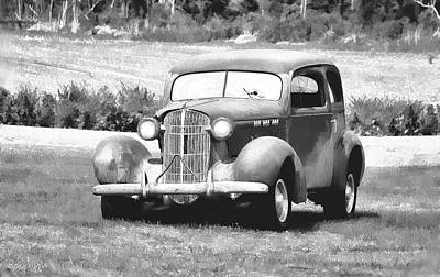 Photograph - Vintage  Buick by Bonnie Willis