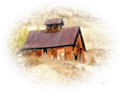 Digital Art - Old Building by Elijah Knight