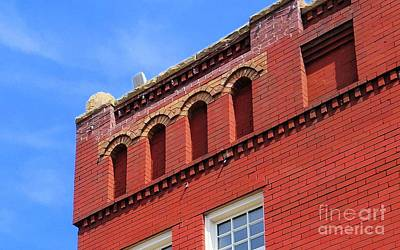 Photograph - Old Building In Checotah, Oklahoma by Janette Boyd
