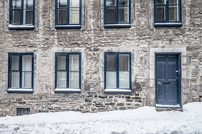Photograph - Old Building In Quebec City by Edward Fielding