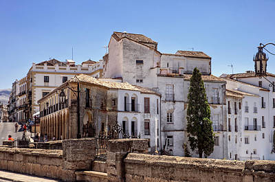 Photograph - Old Buildings Of Ronda. Andalusia. Spain by Jenny Rainbow