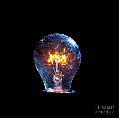 Photograph - Old Bulb by Gualtiero Boffi