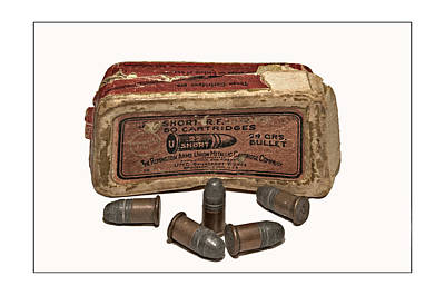 Photograph - Old Bullets by Susan Leggett
