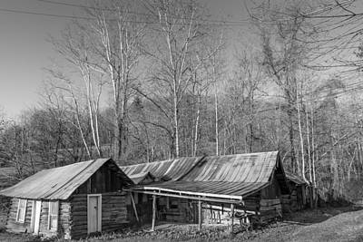 Photograph - Old But Not Forgotten Monochrome  by Michael Scott