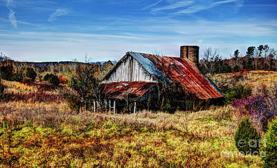 Photograph - Old Buttermilk Road Barn by Paul Mashburn