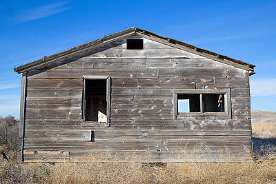 Photograph - Old Cabin In Idaho, Usa by Dart Suze Humeston