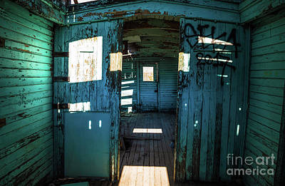 Photograph - Old Caboose Rhyolite Ghost Town by Blake Webster