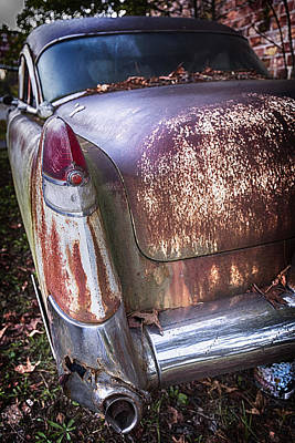 Photograph - Old Caddy by Alan Raasch