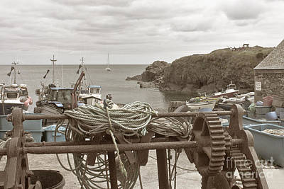 Photograph - Old Cadgwith A Very Cornish Harbour by Terri Waters
