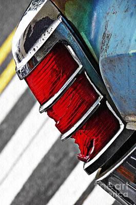 Photograph - Old Cadillac Tail Light 2 by Sarah Loft