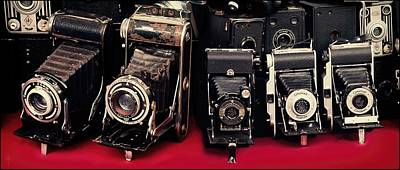 Old Cameras  Original by Daniel Arrhakis