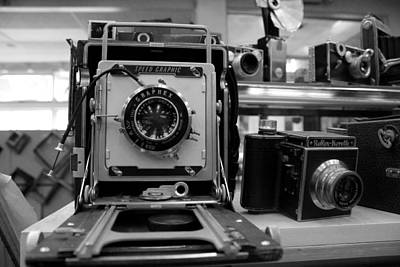 Photograph - Old Cameras by Joseph C Hinson Photography
