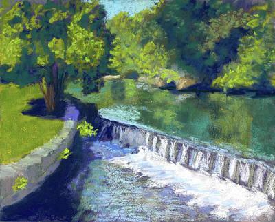 Wall Art - Painting - Old Canal by Jennifer Richard-Morrow